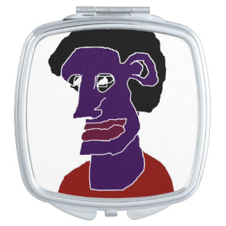 Espejos compactos caricaturas - Espejo de viaje ...
