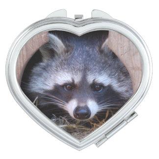 Espejos De Viaje Raccoon - mapache - by Jean Louis GLINEUR