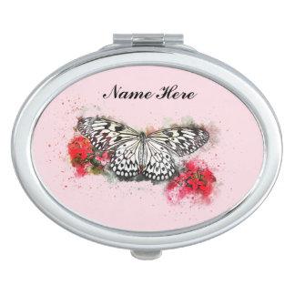 Espejos Maquillaje Arte abstracto de la mariposa