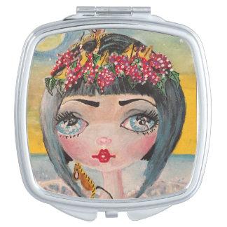 Espejos Maquillaje Espejo de hadas francés de Princesd del queso