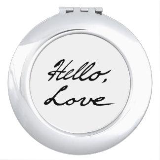 Espejos Maquillaje Hola, amor