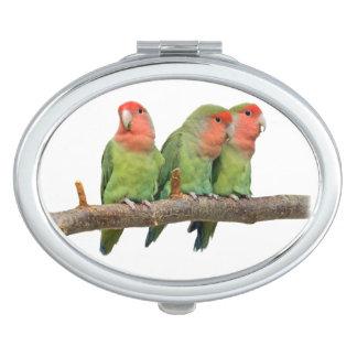Espejos Para El Bolso Espejo del acuerdo del trío del pío (elija el