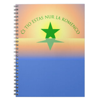 Esperanto: Apenas el cuaderno del principio