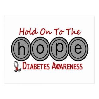 ESPERANZA 6 de la diabetes Postal