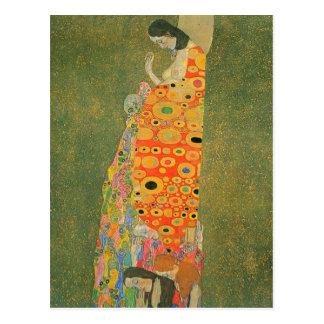 Esperanza abandonada de Gustavo Klimt Postal