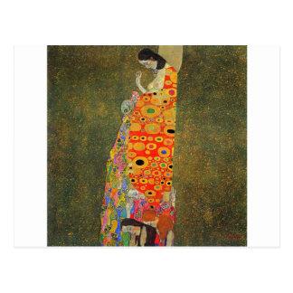 Esperanza abandonada Klimt de Gustavo Postal
