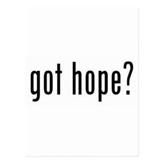 ¿esperanza conseguida postales