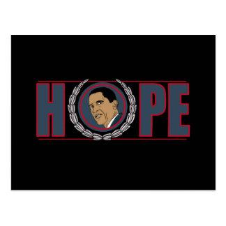 Esperanza de Barack Obama Postal