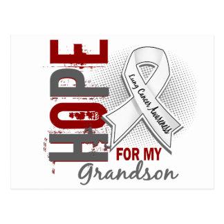 Esperanza de mi cáncer de pulmón del nieto postal