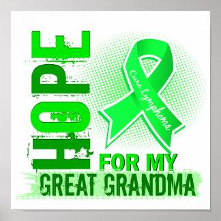 Esperanza de mi gran linfoma de la abuela posters