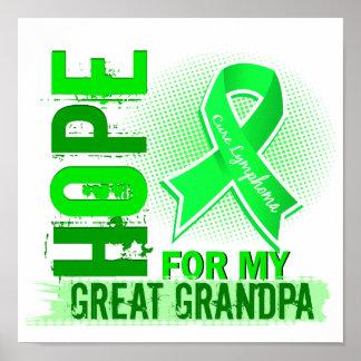 Esperanza de mi gran linfoma del abuelo impresiones