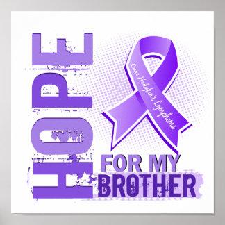 Esperanza de mi linfoma de Brother Hodgkins Impresiones