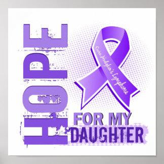 Esperanza de mi linfoma de Hodgkins de la hija Impresiones