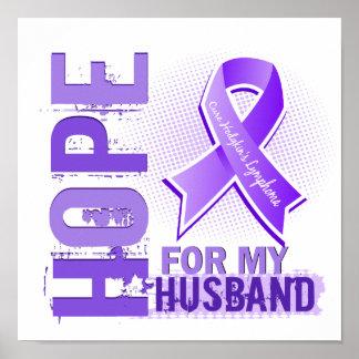 Esperanza de mi linfoma de Hodgkins del marido Poster