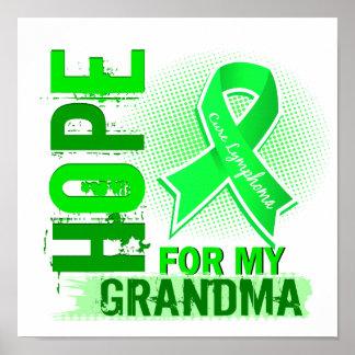Esperanza de mi linfoma de la abuela poster