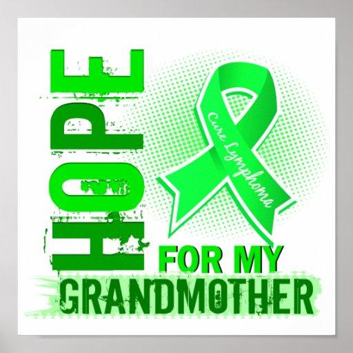 Esperanza de mi linfoma de la abuela impresiones