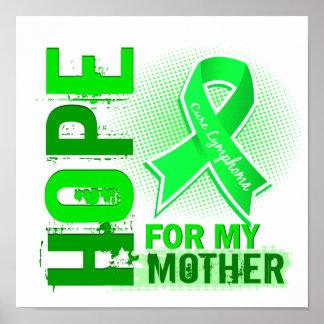 Esperanza de mi linfoma de la madre posters