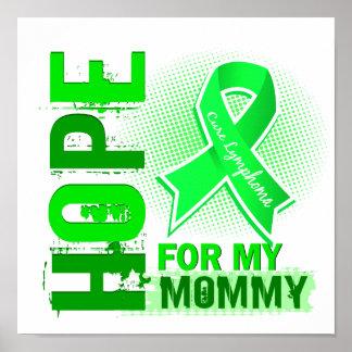 Esperanza de mi linfoma de la mamá impresiones