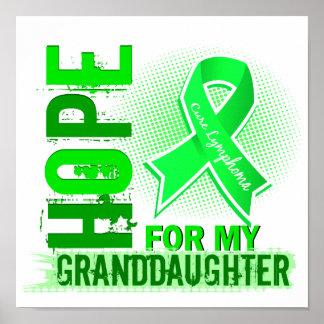 Esperanza de mi linfoma de la nieta posters