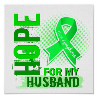 Esperanza de mi linfoma del marido impresiones