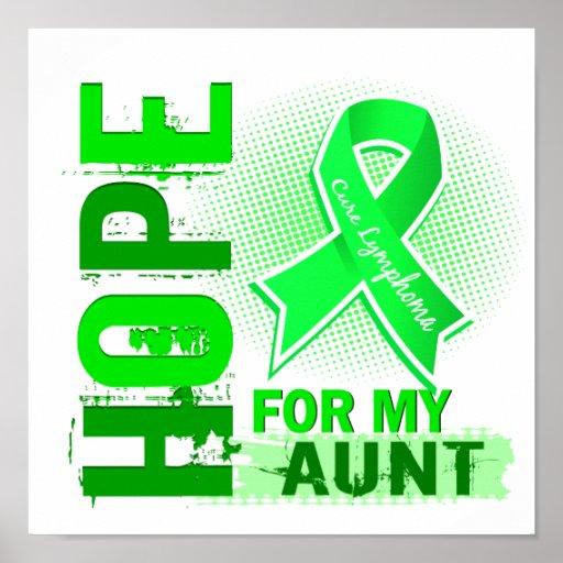 Esperanza de mi tía Lymphoma Poster