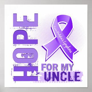Esperanza de mi tío Hodgkins Lymphoma Poster