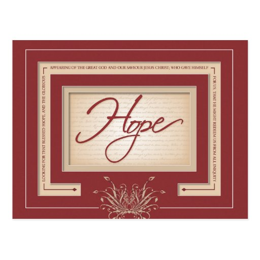Esperanza en el rojo - 2:13 de Titus Postal