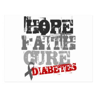 Esperanza. Fe. Curación. Diabetes Postal