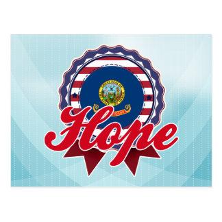 Esperanza, identificación tarjetas postales