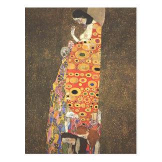 Esperanza II de Gustavo Klimt Postal