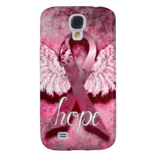 Esperanza rosada de la cinta por los diseños de Ve Funda Samsung S4