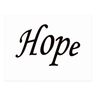 esperanza tarjeta postal