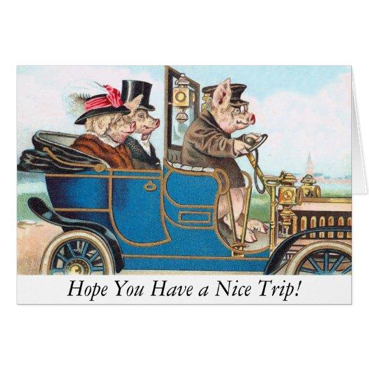 ¡Esperanza usted tiene Niza un viaje! Tarjeta de