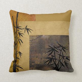 Esperanza y bambú cojín