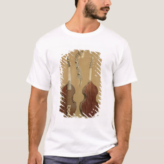 Espicanardo de DA de viola, o viol bajo, por Camiseta