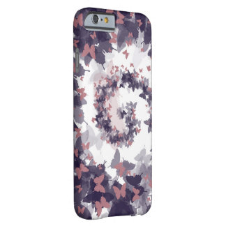 Espiral de la mariposa funda barely there iPhone 6