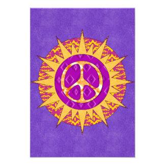 Espiral de Sun de la paz Comunicados Personales