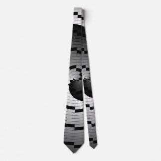 Espiral doble de Yin Yang Corbatas