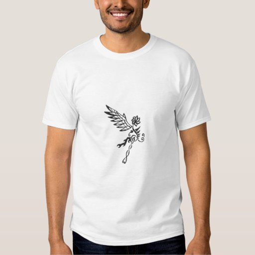 Espiral fresco camisetas