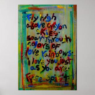 espíritu libre póster