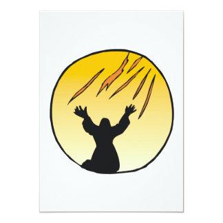 Espíritu santo invitación 12,7 x 17,8 cm