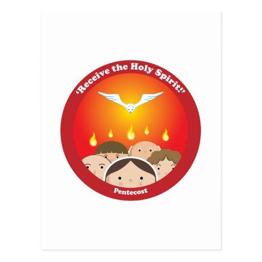 Espíritu Santo Pentecost Postal