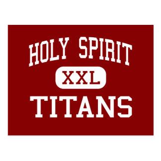 Espíritu Santo - titanes - católico - Tuscaloosa Tarjetas Postales