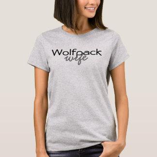 Esposa de Wolfpack Camiseta