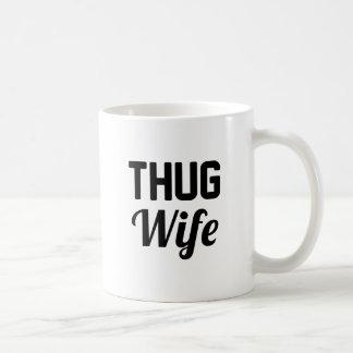 Esposa del gamberro taza de café