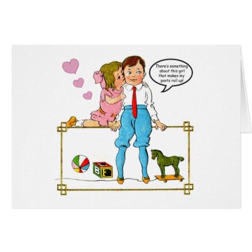 Esposa-Humor/aniversario/tarjeta del día de San Va