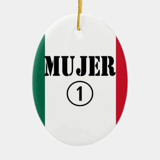 Esposas mexicanas: Uno de Mujer Numero Ornamentos De Reyes Magos