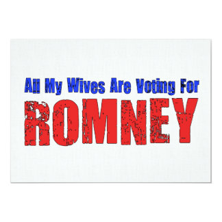Esposas para Romney