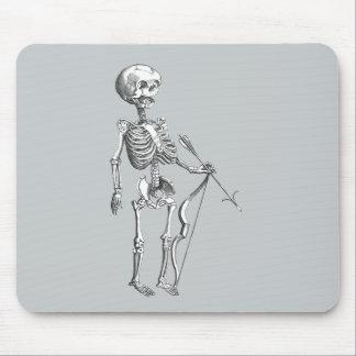 Esqueleto Archer del vintage Alfombrilla De Ratón