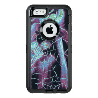 esqueleto asustadizo perfecto funda OtterBox defender para iPhone 6